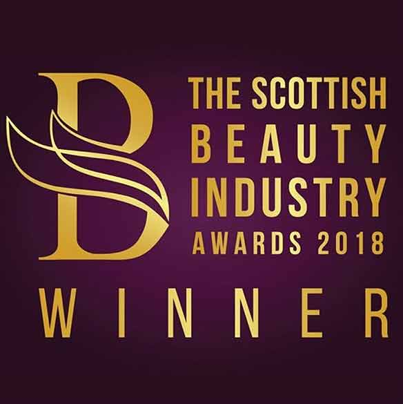 AMM Team - Winner at the Scottish Beauty Industry Awards 2018