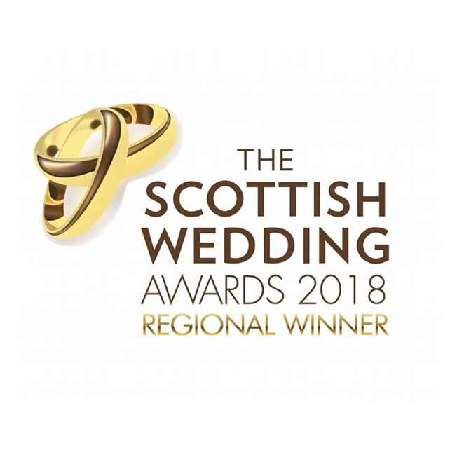 AMM Team - winner at the Scottish Wedding Awards 2018